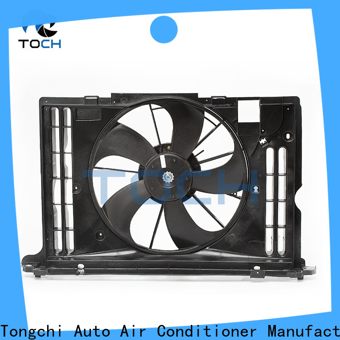 TOCH wholesale car radiator fan supply for car