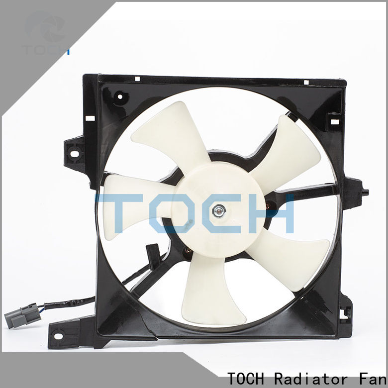 TOCH oem car radiator electric cooling fans company for engine