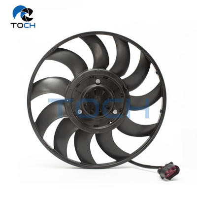 12 months warranty after market auto engine condenser cooling fan 4H0959455AC/4H0959455AE for Audi