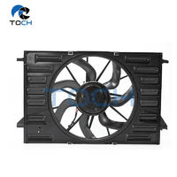 Single Curved Blades Cooling Fan Assembly 8W0959455F /8W0959455C /8W0959455M /8W0121003B For Audi A4/Q7