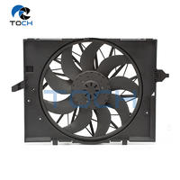 Single 9 Blades 13.5 Volt Engine Cooling Fan Assembly 17427543282 For BMW 5 Series