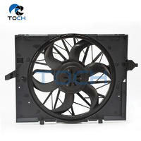 400W Engine Brushless Cooling Fan Assembly 17427540681 For BMW 5 Series
