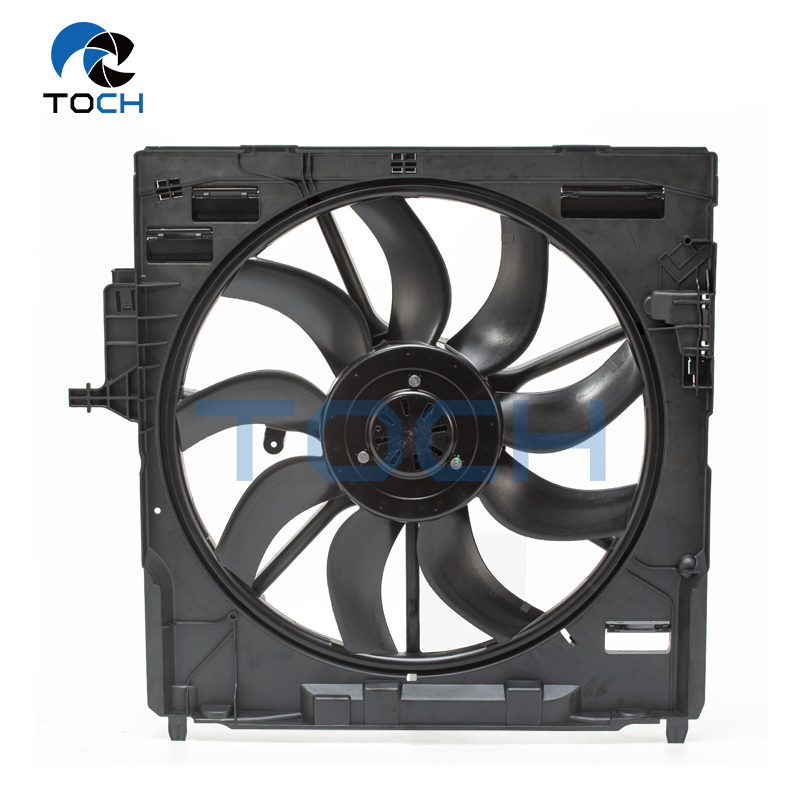 17428618243 /17427647754 /17427576281 850W Brushless Cooling Fan And Motor Assembly For Select BMW Model