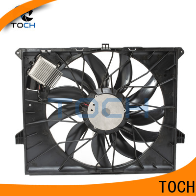 TOCH high-quality brushless radiator fan supply for benz