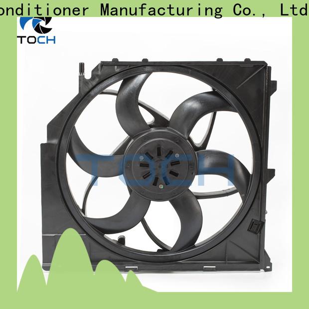 TOCH hot sale car radiator fan supply for bmw