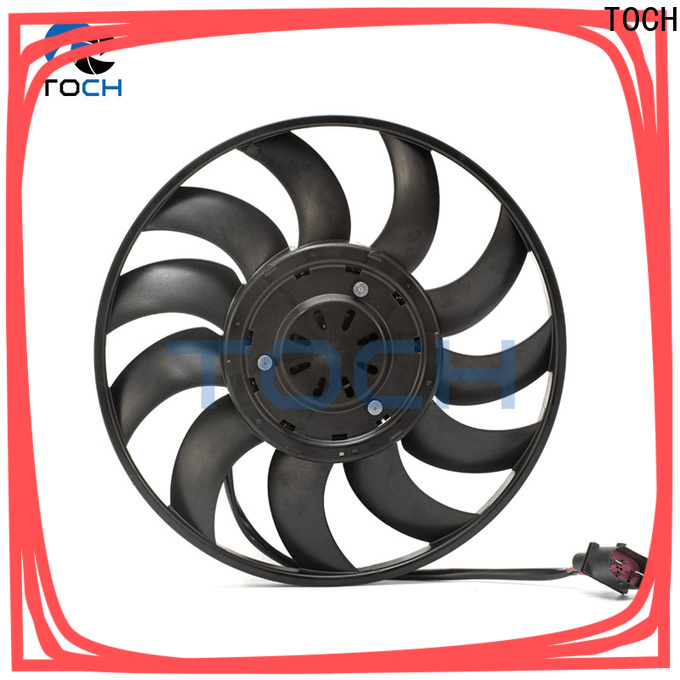 TOCH high-quality car radiator electric cooling fans supply for car