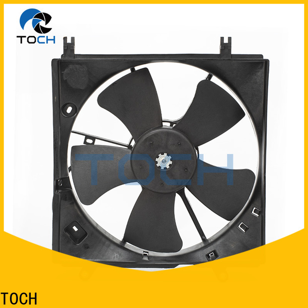 TOCH latest electric engine cooling fan supply for car