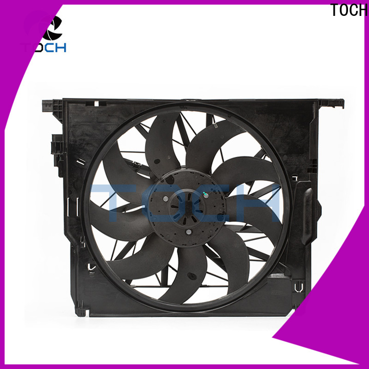TOCH fast delivery car radiator fan manufacturers for engine