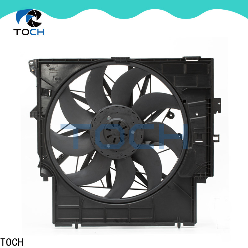 TOCH high-quality electric engine cooling fan manufacturers for car