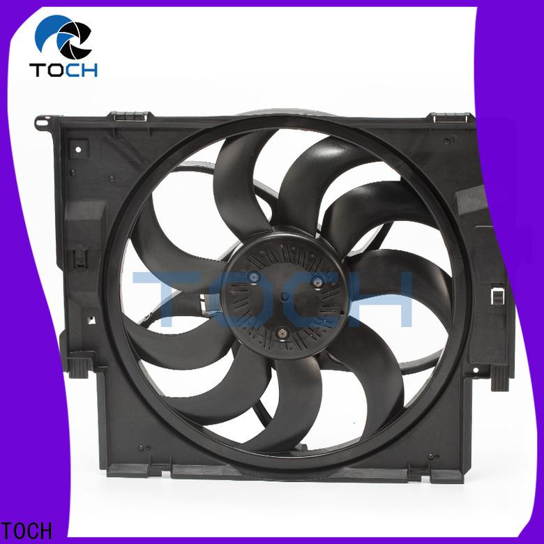 TOCH hot sale bmw electric radiator fan supply for car