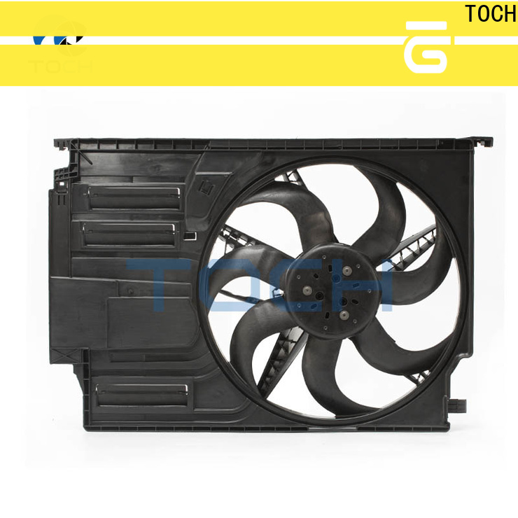 TOCH high-quality brushless radiator cooling fan company for car
