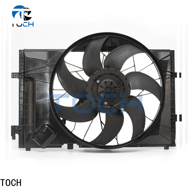 TOCH new brushless automotive cooling fan suppliers for benz