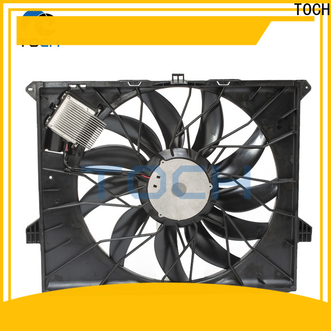 latest radiator fan assembly factory for car