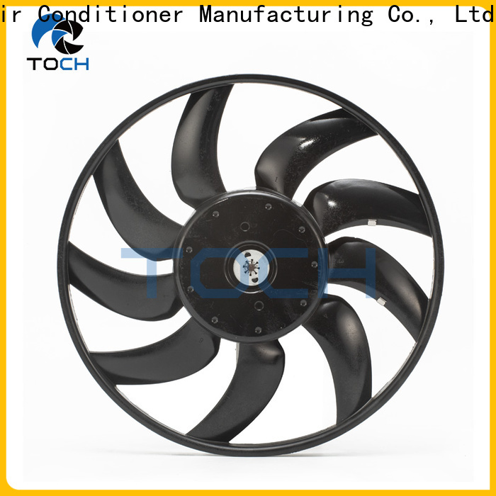 TOCH oem brushless automotive cooling fan supply for car