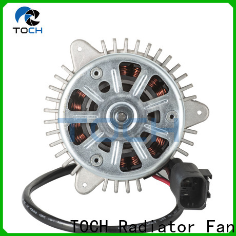 TOCH car radiator fan motor company exporter