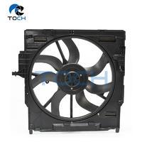 Vehicle 600W Radiator Fan Housing With Fan 17427634467/17428618241 For BMW X5