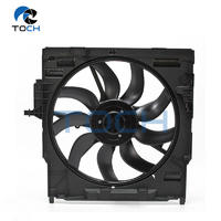 TOCH 850W Condenser Brushless Radiator Fan 17428618242 /17427634471  /17427616104 For BMW X5