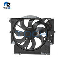 Electric Condenser Radiator Fan Assembly 17427545366 For BMW X1