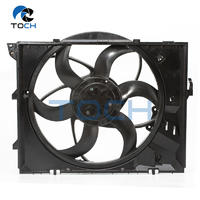 Top quality auto cooling system radiator fan assembly part# 17427523259/17117590699 for BMW 3
