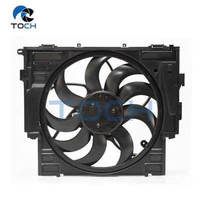New Condition Toch Brand Cooling Fan Assy 17418642161 With Control Module For BMW 5ER