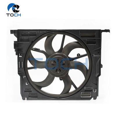 OE Number 17428509740 Engine Radiator Condenser Fan Assembly For BMW 5