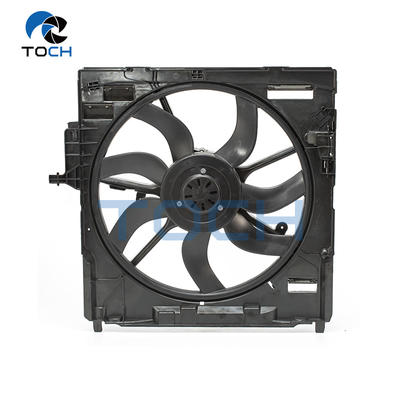 Electric Auto Engine A/C Radiator Fan Assembly Replacement 17428618240/17427533558/17427598740 For BMW X5