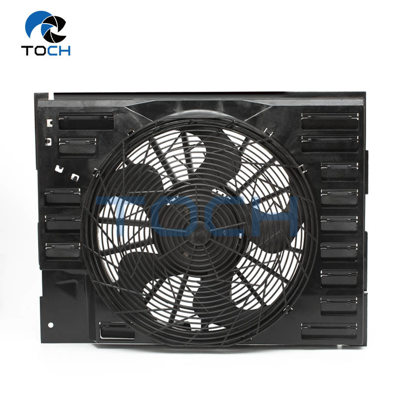 OE No.64546921379/64547603657 High Performance Radiator Fan Replacement For BMW 7 Series