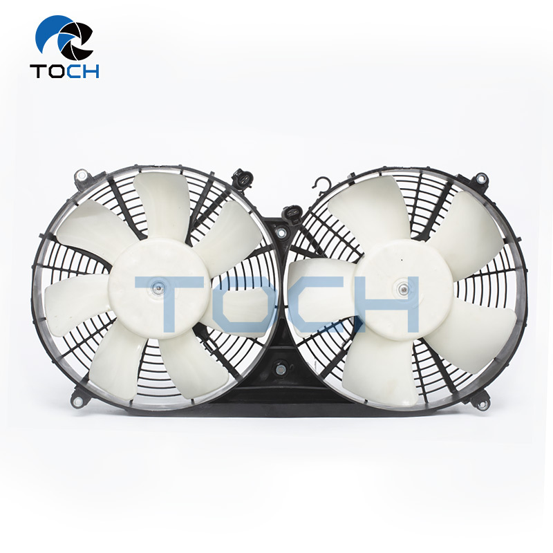 Radiator Cooling fan Assembly 15360- 75030/ 15360-75032 for Toyota