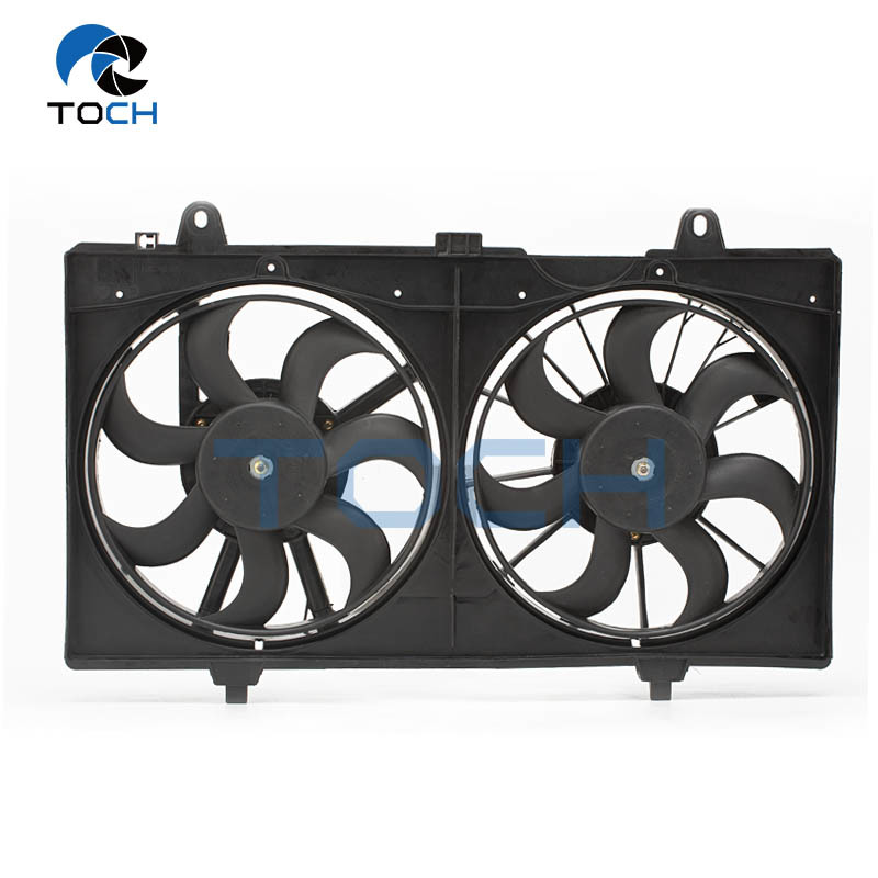 TOCH brand dual radiator cooling fan 21481-ET000 for Nissan parts
