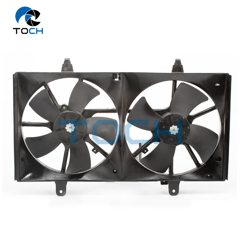 Left and Right Car Radiator Cooling Fan 21486-9E000/21486-9E010 For Nissan