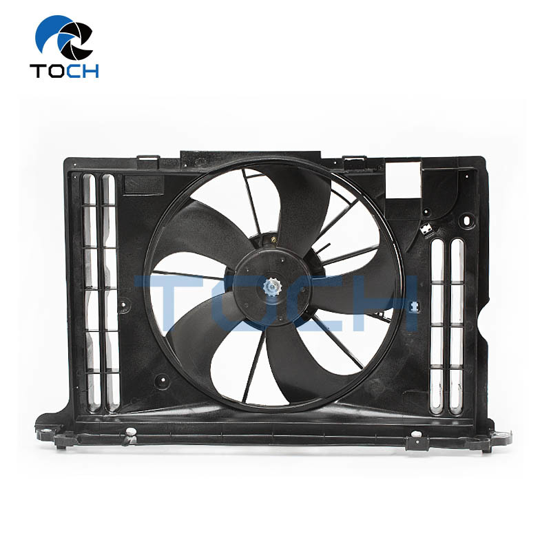Auto Vehicle A/C Condenser Radiator Fan Replacement 16363-0T020 For Toyota
