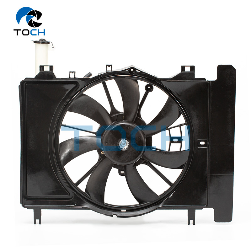 Auto A/C Condenser Engine Radiator Fan Assembly 16711-21110
