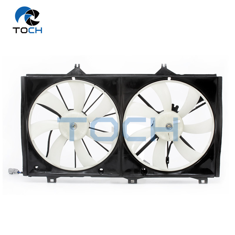 OE Replacement Car Radiator Fan Assembly 16363-0D040 For Toyota