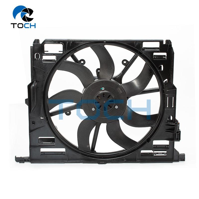 Auto Radiator Cooling Fan Radiator Fan Assy 17428509741 For BMW 5