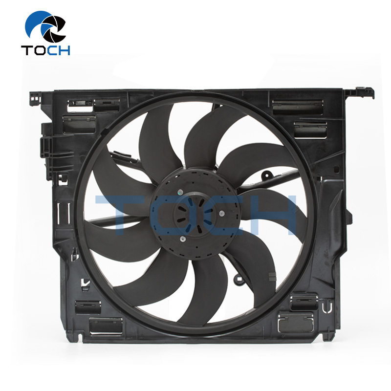 Auto Electric Cooling Fan Auto Aftermarket Parts 17428509743 For BMW 5