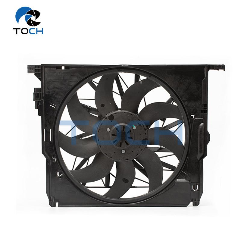 17417589028 Brushless Radiator Fan Aftermarket Radiator Fan Replacement For BMW 7 Series