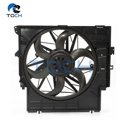 Engine Radiator Fan With Housing and Motor Assembled 17427601176 For BMW X3 F25 400W