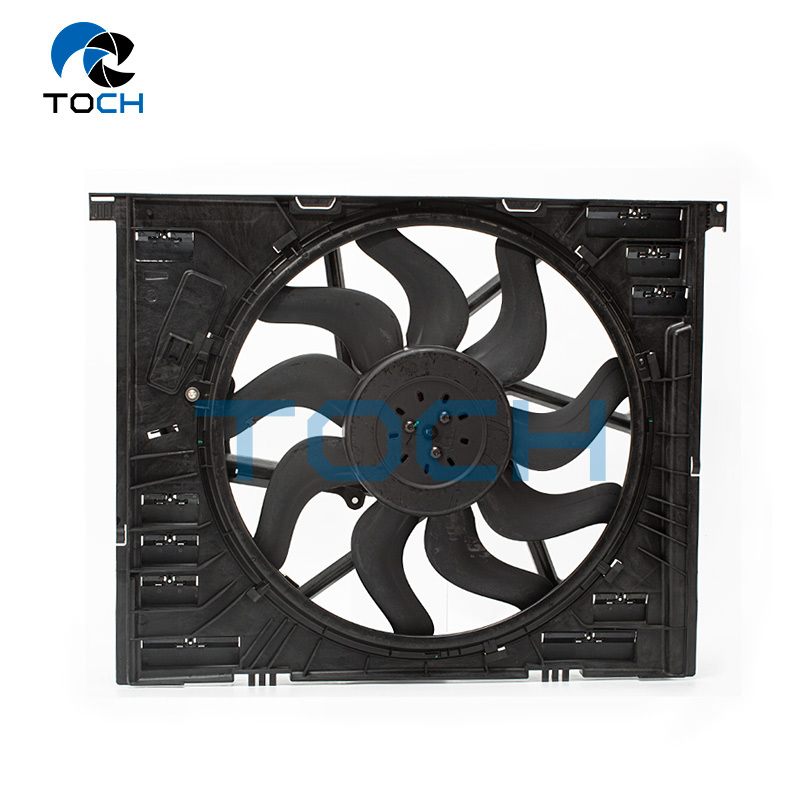Engine Auto Parts Cooling Fan Assembly For BMW 3 Series 400W 17428666815