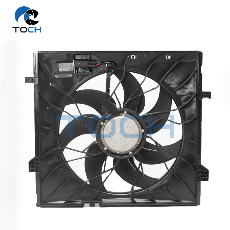 TOCH Quality Aftermarket Auto Parts Radiator fan A0999062400/A0999060700 For Benz
