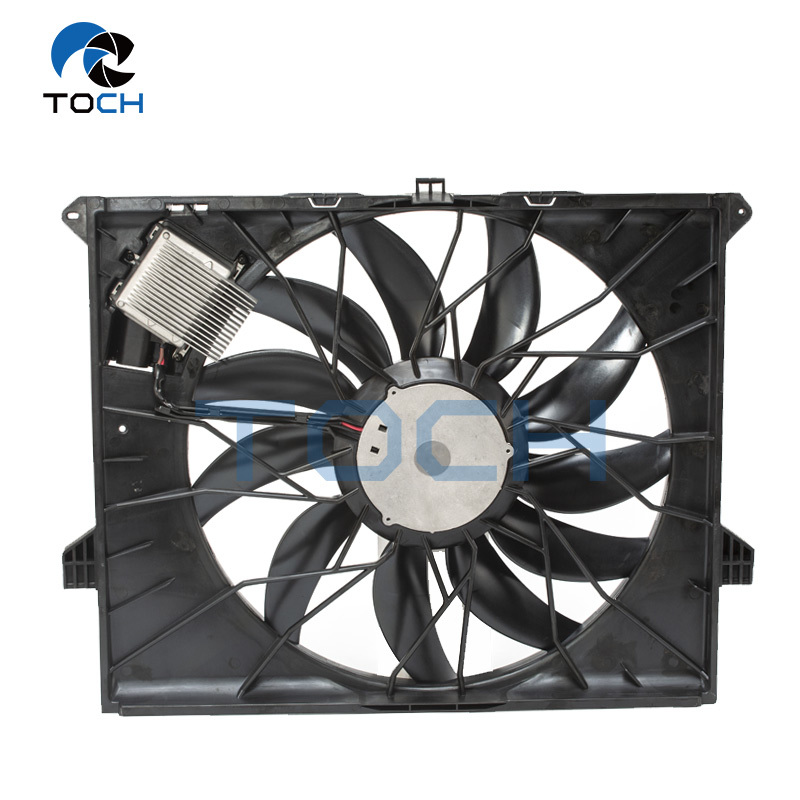 Easy Install Auto Brushless Engine Cooling Fan For Benz  A1645000193/A1645000593