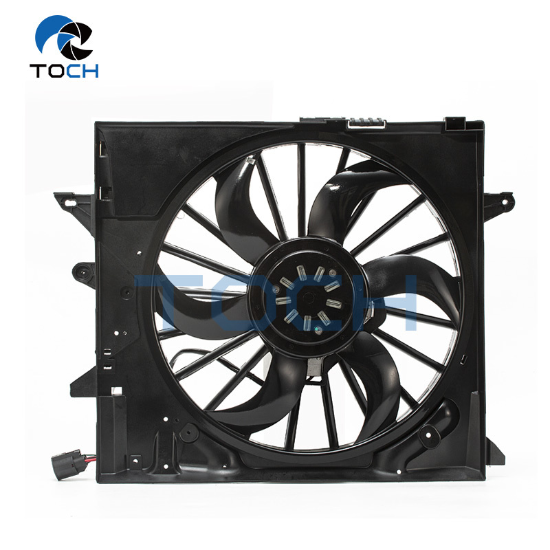 Perfect Replacement OE NO.C2Z13765/C2P9525 Radiator fan Assembly For Jaguar