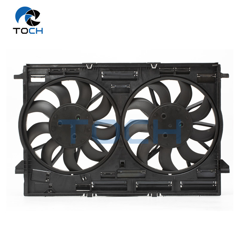 95B121003 600W car replacement radiator fan cooling parts for Porsche
