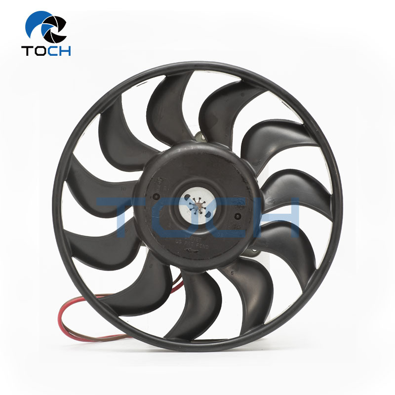 Engine ventilation radiator electric cooling fan 4F0959455A for Audi A6