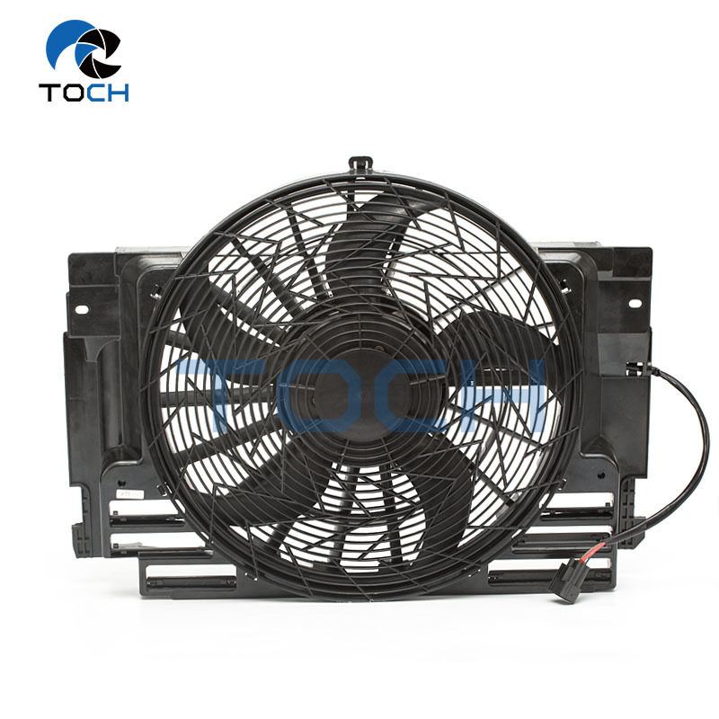 CE Certificated A/C Condenser Fan Assembly 64546921381 For BMW X5 E53