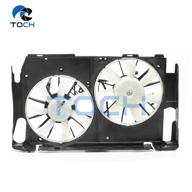 16363-28170 Chinese Air Conditioner Manufacturer Auto Engine Radiator Cooling Fan For Toyota