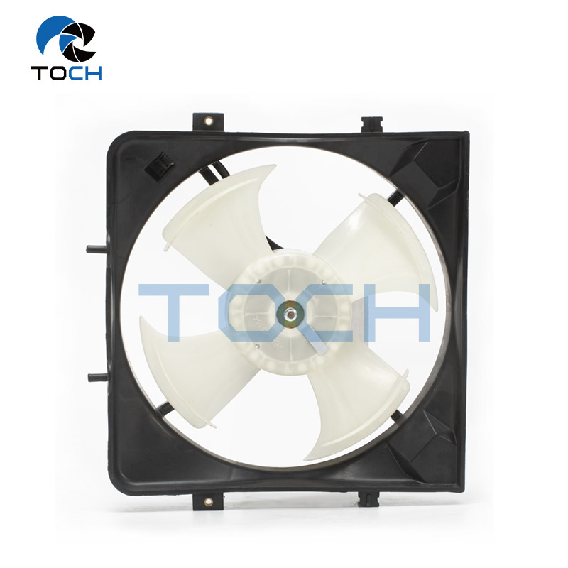 80150-SR3-K01 Cooling Radiator Fan With Air Condition For Honda