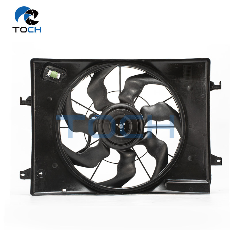 DC 12V Auto Thermal System Radiator Cooling Fan 25380-0W200/25380-0L250/25380-1F050 For Hyundai