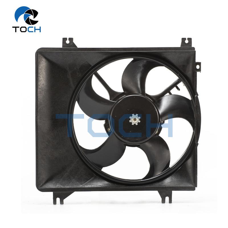 Car Electric Radiator Fan Assy 25386-02000/25231-29000/25350-02000 For Hyundai Atos