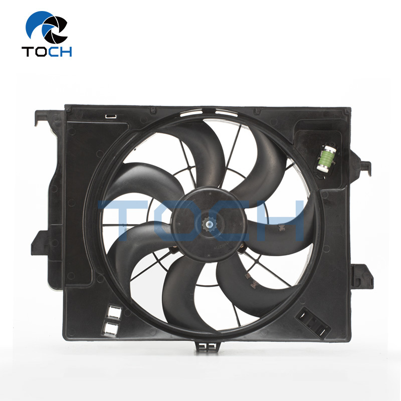 Korean Car Cooling Replacement Part Cooling Air Duct With Fan 25380-1R050/25386-1R140/25231-1R390/25350-1R050 For Hyundai