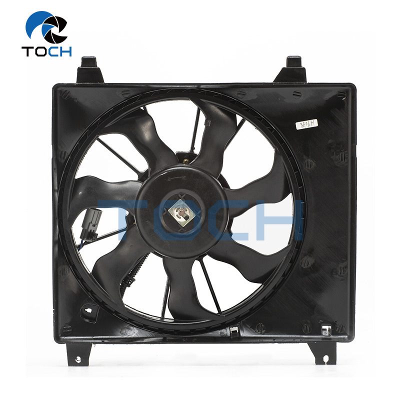 25380-4N000 Engine Cooling VentilationSystem Parts Radiator Fan Assembly For Hyundai